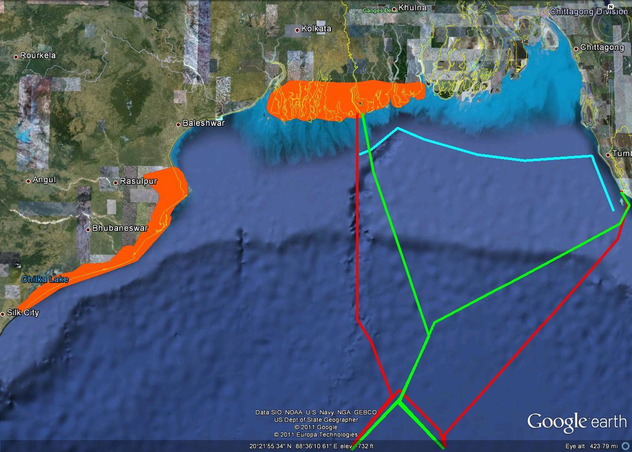New MooreSouth Talipatti - Us sea border map