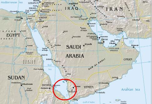 Location Of Yemen On World Map.Saudi Arabia Yemen Border Dispute