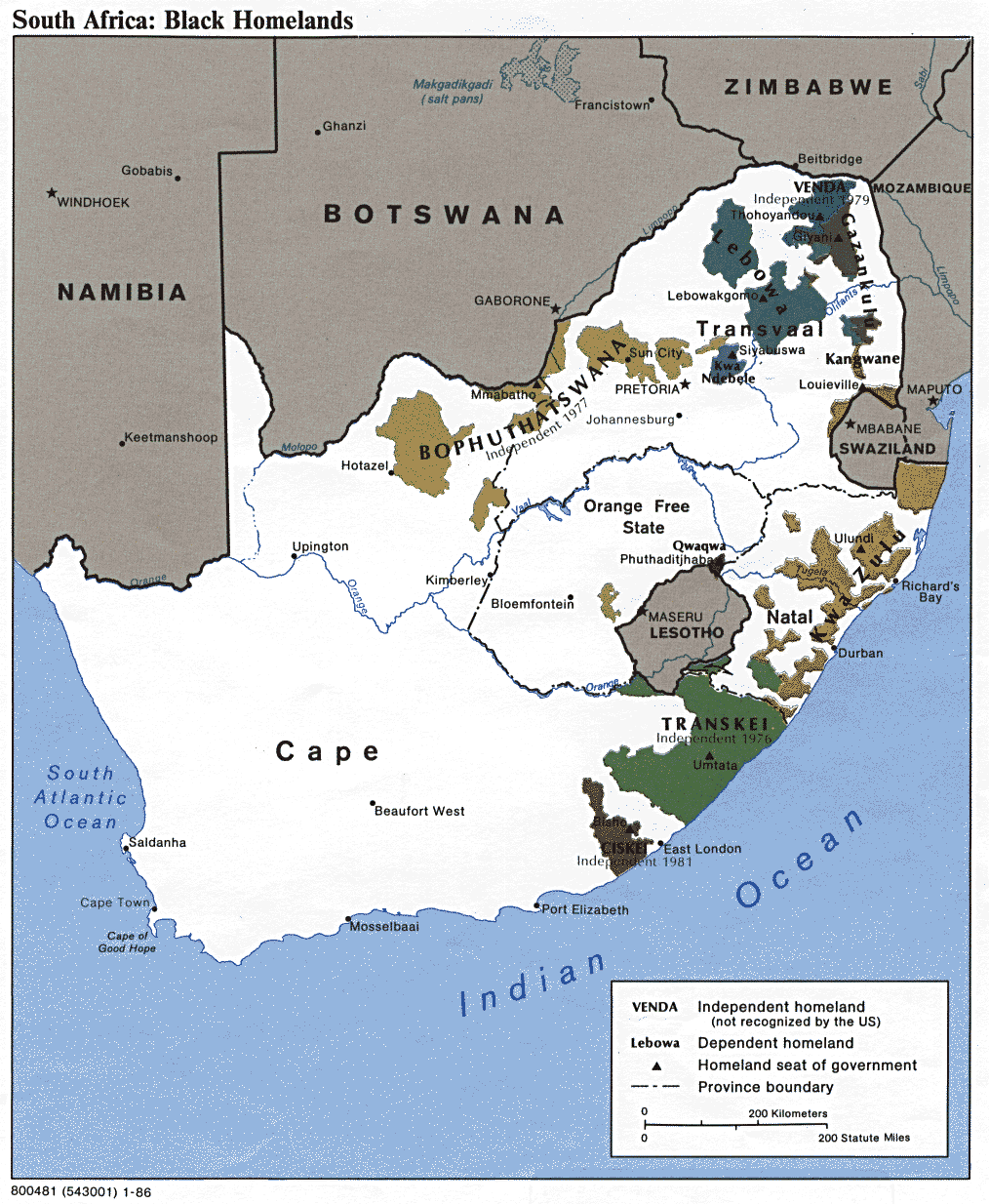 map of south africa during apartheid South Africa Apartheid map of south africa during apartheid