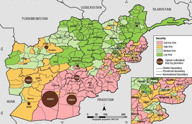 Helmand Province Afghanistan Conflict and Climate Change