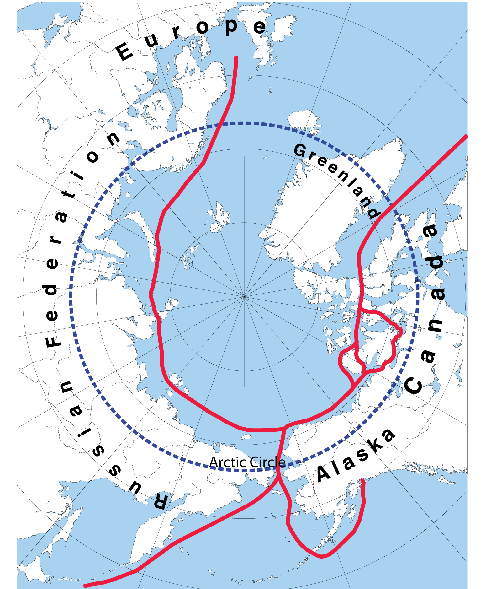 The Northwest Passage Map